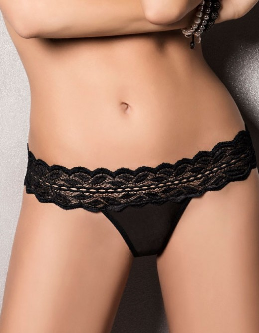 Passion Kalypso Panty Black