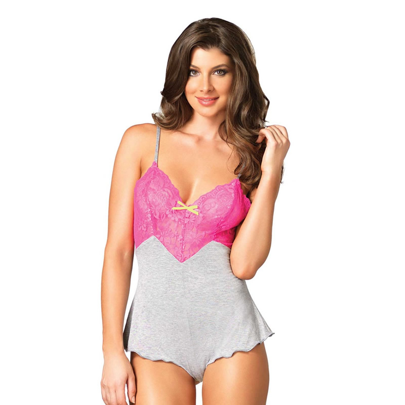 Brushed Jersey Lounge Teddy